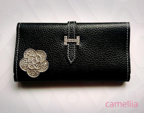 3a7c3fa4c796 ♥カメリア デコ財布♥ 財布・二つ折り財布 camellia 通販|Creema ...