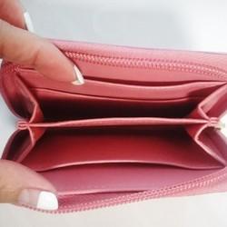 df42e67447b5 ベージュ1点のみ】smileにこちゃん☺財布 財布・二つ折り財布 camellia ...