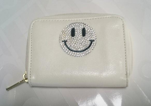 06763e347003 smileにこちゃん☺財布【オフホワイト】 財布・二つ折り財布 camellia ...