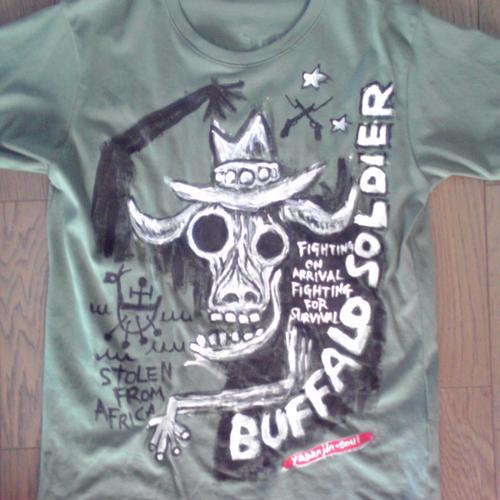 バッファローソルジャーTシャツ Tシャツ・カットソー fu-taro 通販 ...