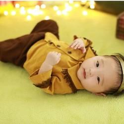 1f4e524ada186 70)カウボーイ風ジャケット式シャツのセットアップ ベビー服 baby BONOBO 通販 Creema(クリーマ)  ハンドメイド・手作り・クラフト作品の販売サイト