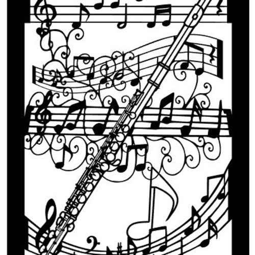 切り絵 音符に楽器 バイオリン 他の楽器に変更も可能 切り絵 切り絵屋きりの介 通販 Creema クリーマ ハンドメイド 手作り クラフト作品の販売サイト