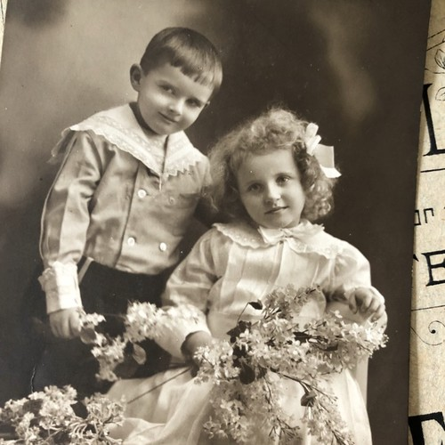 英国で出会った♪ アンティーク 1900年代初頭 セピアカラー ベスト ...