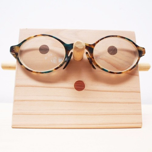 wood 眼鏡かけ《文字入れ無料》